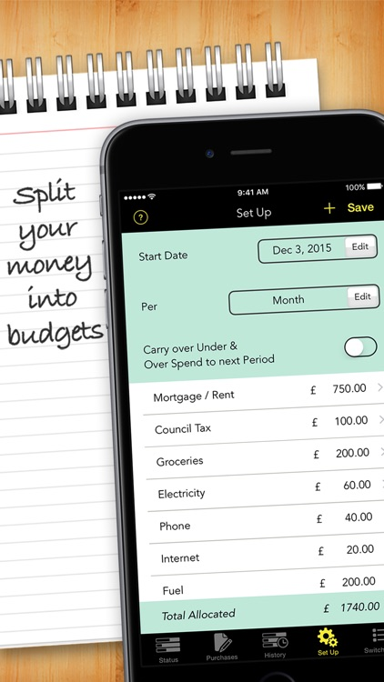 Budgets - Expense Tracker screenshot-1