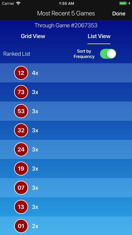 Keno Lotto Pro: Ticket Scanner screenshot-8