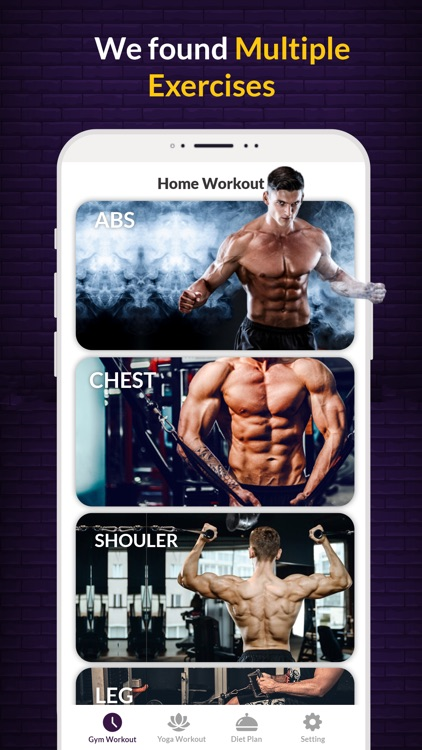 Gym workout - Gym trainer
