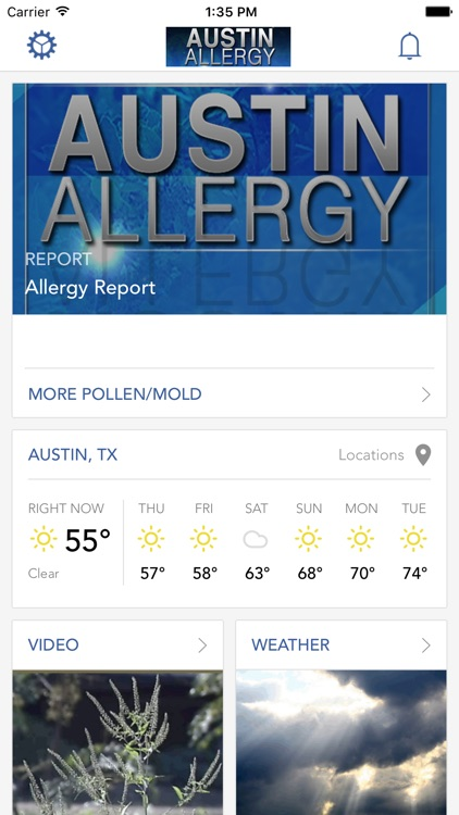 Austin Allergy screenshot-0