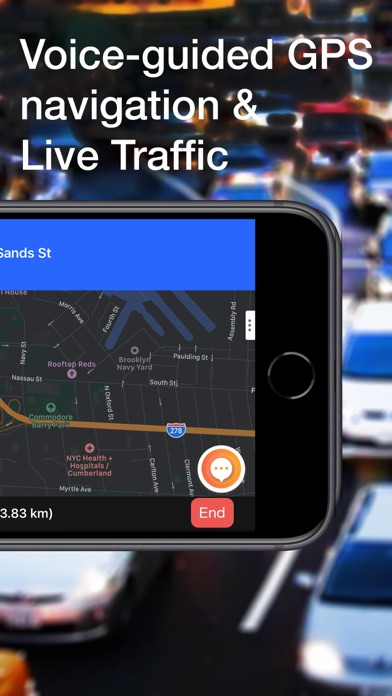 Traffie Navigation & Alerts Screenshot