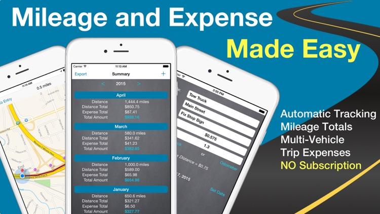 MEL: Car Mileage & Expense Log screenshot-0