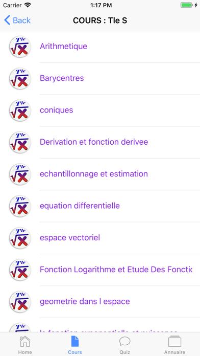 Cours de Maths screenshot 10