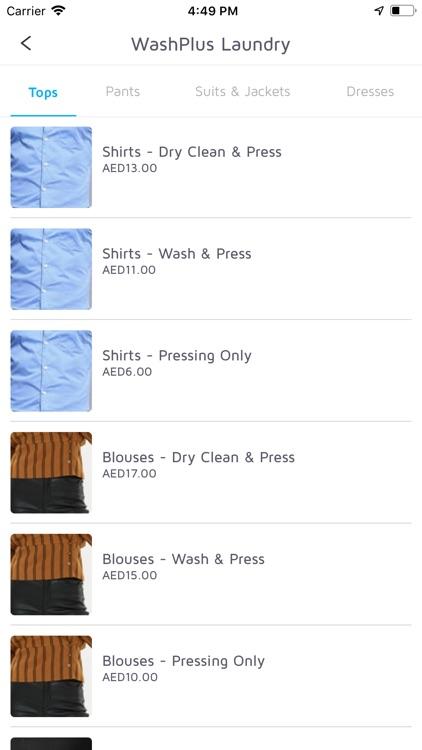 Washplus Laundry Customer screenshot-3