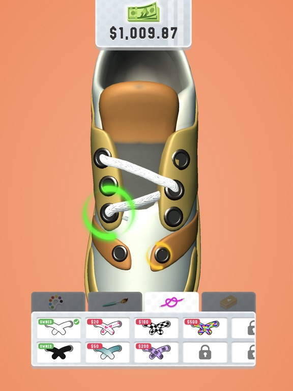iPad Image of Sneaker Art!