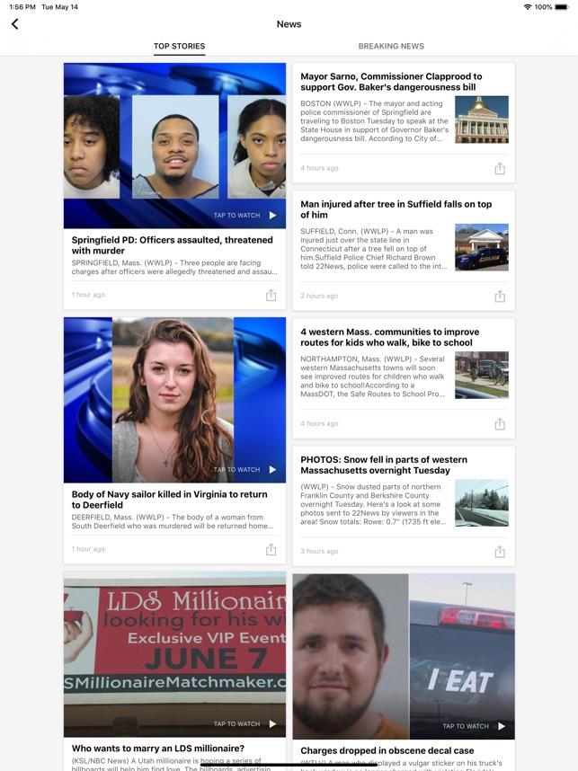 WWLP 22News – Springfield MA on the App Store