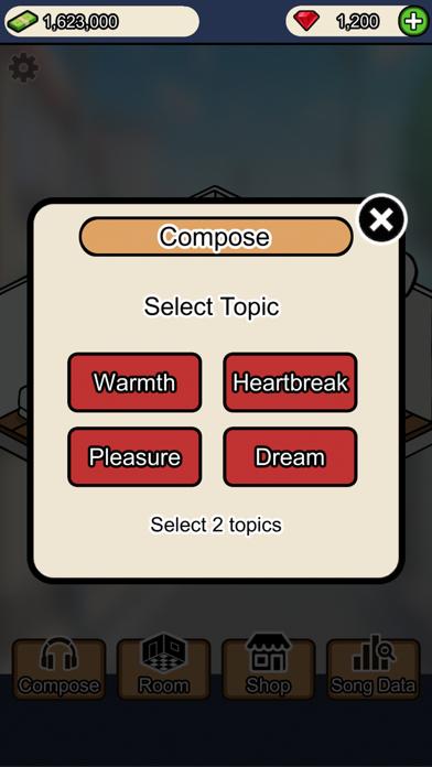 Musician Tycoon screenshot 2