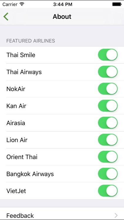 ThaiFlight+ screenshot-4