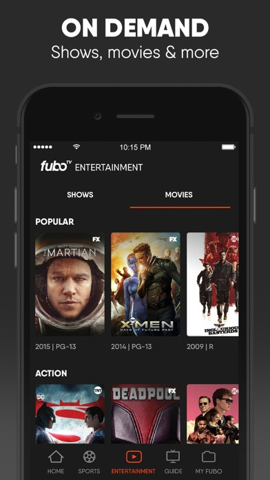 download fuboTV: Watch Live Sports & TV apps 2