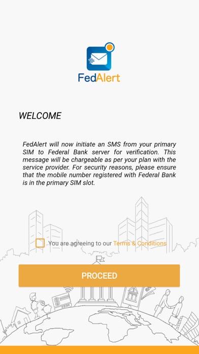FedAlert app image