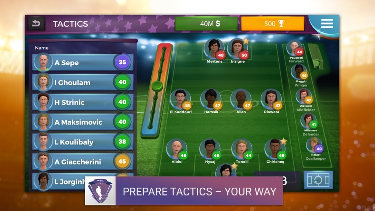 Women's Soccer Manager (WSM) screenshot-1