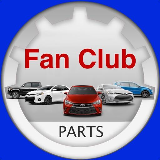 Fan club car T0Y0TA Parts Chat iOS App