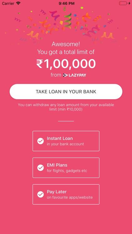 Personal Loan Online - LazyPay screenshot-5