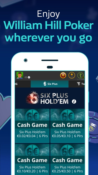 William Hill Poker screenshot one
