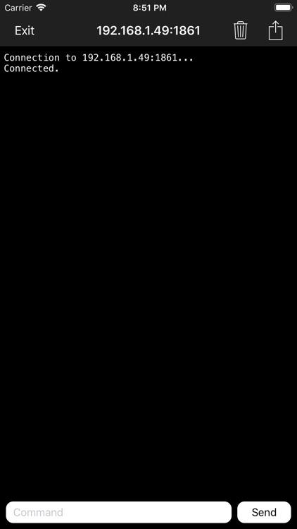 Telnet Terminal screenshot-3