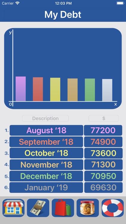 Budget Flow 2-Expenses, Income screenshot-8