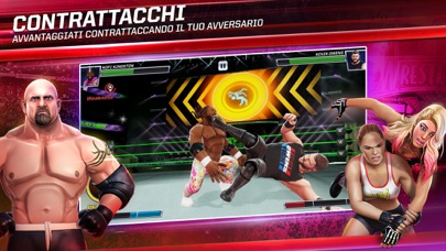 Screenshot of WWE Mayhem9