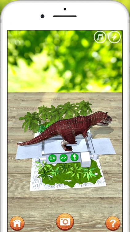 AR 3D dinosaurs screenshot-2