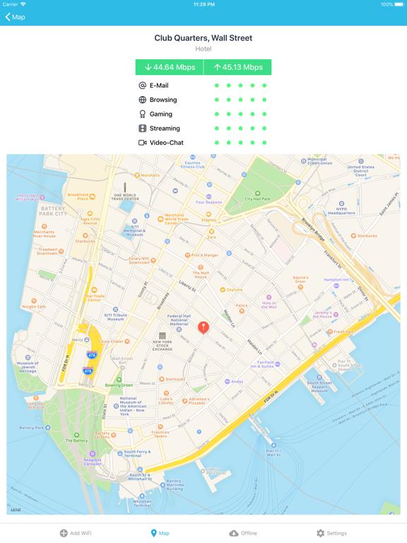 WiFi Finder + Map screenshot