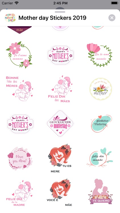Mother day Stickers 2019 screenshot-3