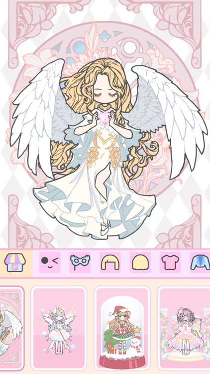 Vlinder Girl - Dress Up Games screenshot-3
