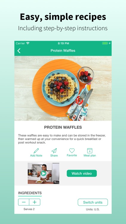 Mealplan: Meal Plans & Recipes screenshot-4