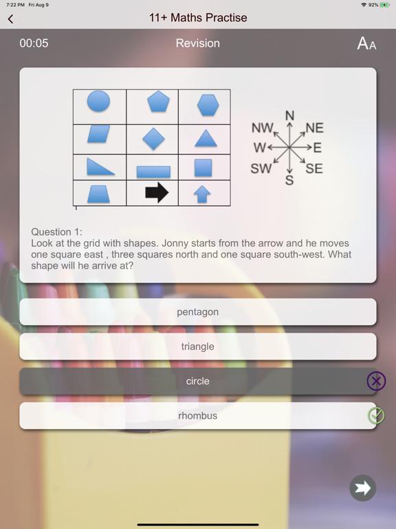 11+ Maths Test Practice screenshot 17