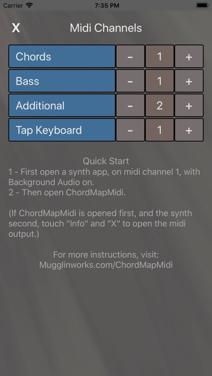 ChordMapMidi screenshot-4