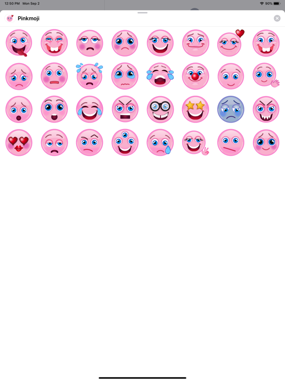 Pink-emoji screenshot 3