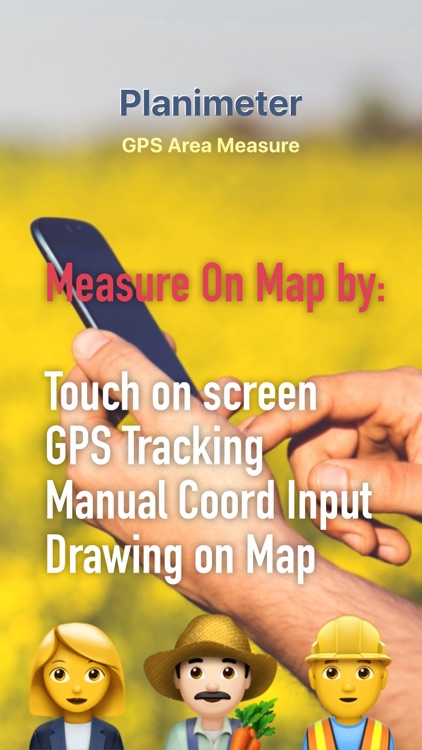 Planimeter GPS Area Measure screenshot-0
