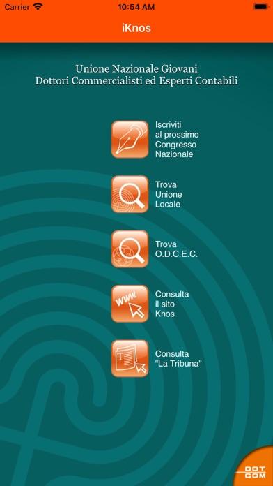 Screenshot of iKnos1