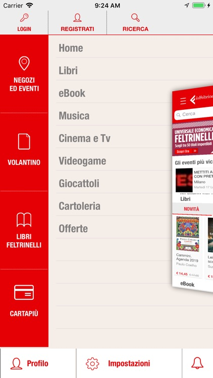 la Feltrinelli Mobile screenshot-0