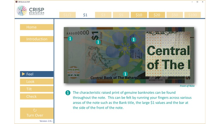 CBB Banknote MAP