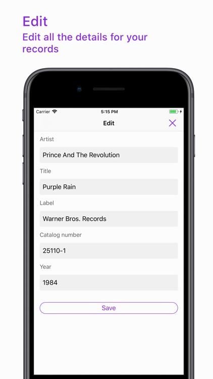 Vinyl Record App screenshot-4