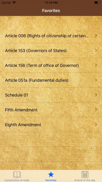 Constitution of India  English screenshot-3