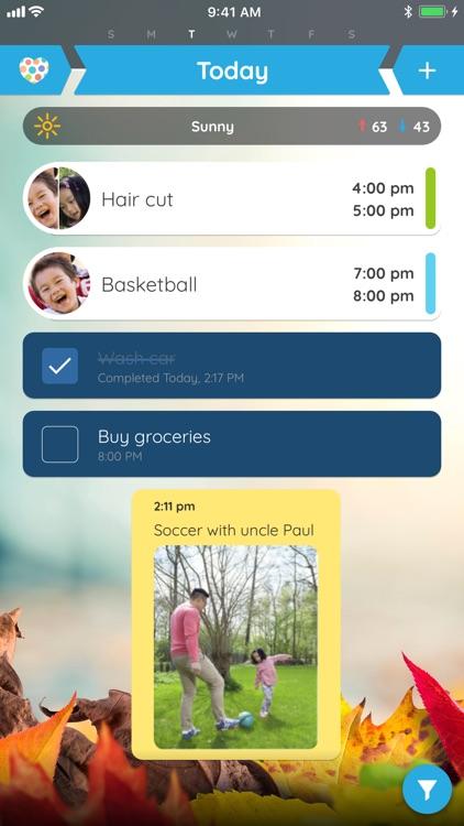 Family Organizer Calendar screenshot-0