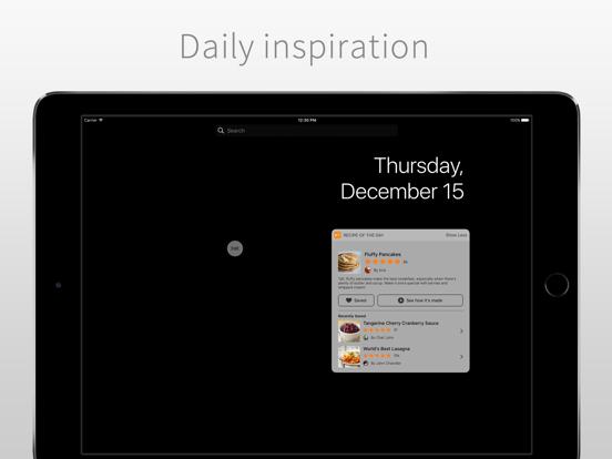 Allrecipes Dinner Spinner iPad
