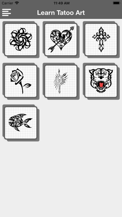 Learn Tattoo Art screenshot-3