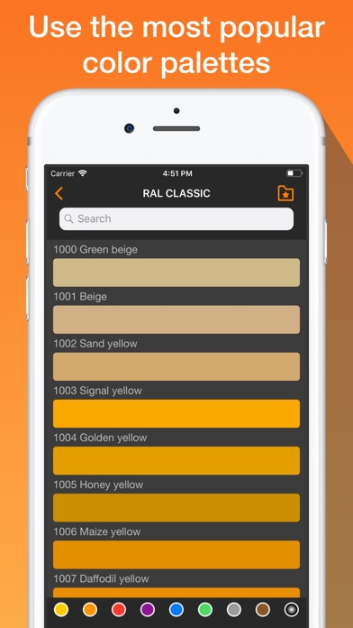 RAL colors. Wall paint tester Screenshots