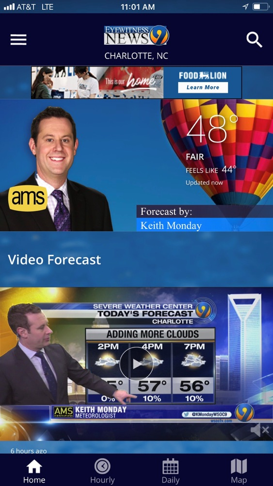 WSOC-TV Channel 9 Weather App App for iPhone - Free Download WSOC-TV