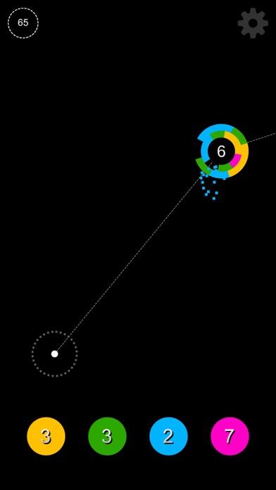 Screenshot #2 pour Circle Jump - Instant Shoot