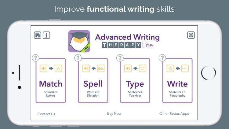 Advanced Language Therapy Lite screenshot-7