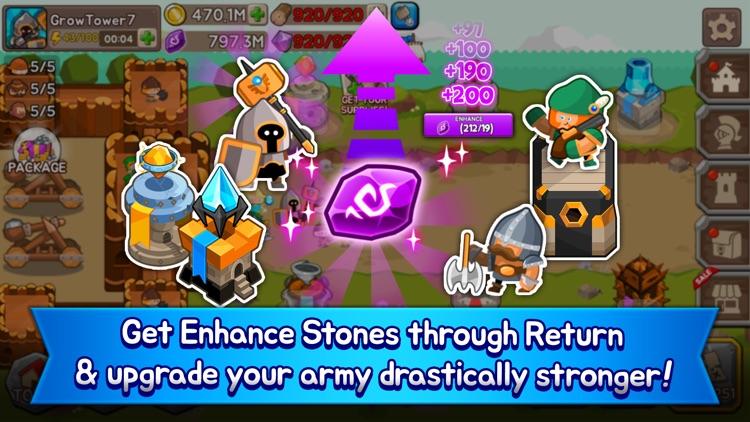 Grow Tower: Castle Defender TD screenshot-3