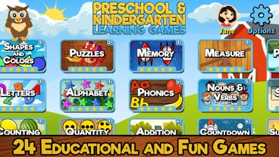Preschool Kindergarten Games review screenshots