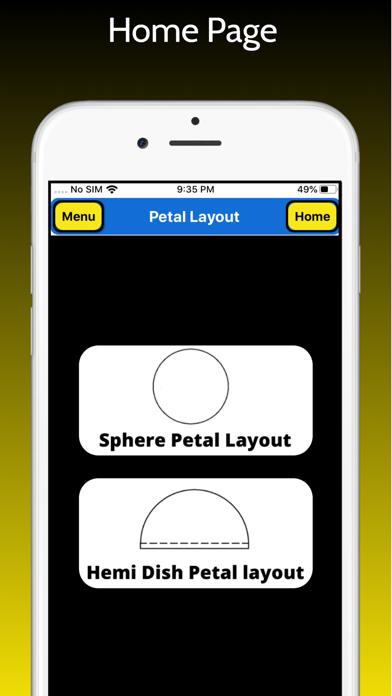 Petal Layout Pro screenshot 1