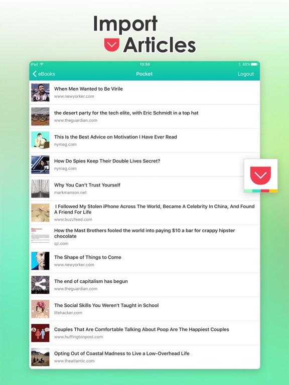ToEbook Screenshots