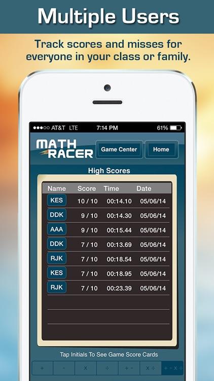 Math Racer Deluxe