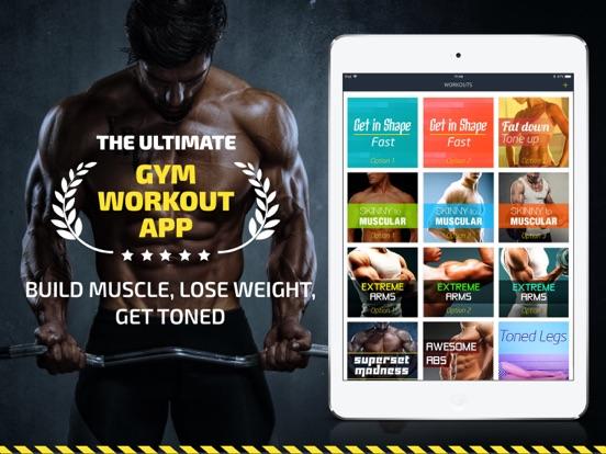 Workout: Gym routines tracker & trainer plan, free screenshot