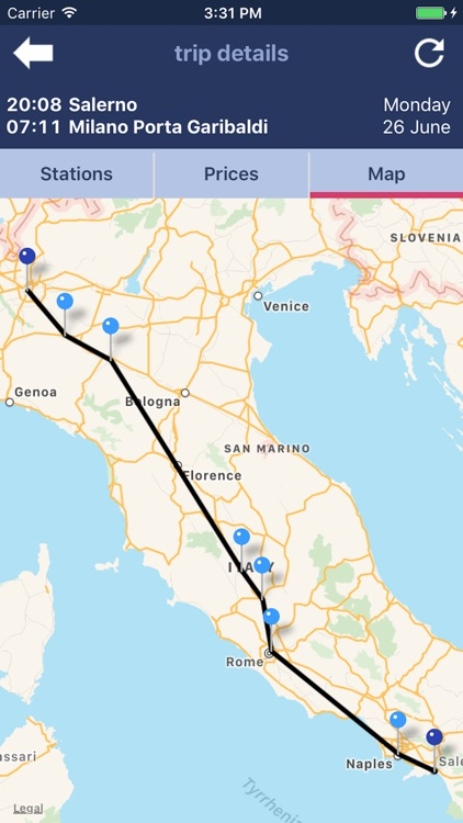 Trenìt! - find Trains in Italy