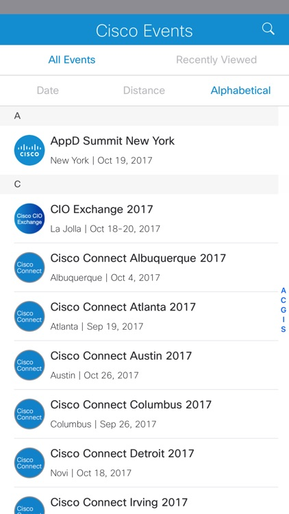 Cisco Events App screenshot-3